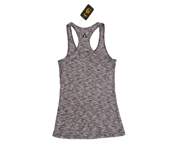 "Auric Gold ""BeautyNGold"" Womens Racerback Tank Top (Heather Burnout)"