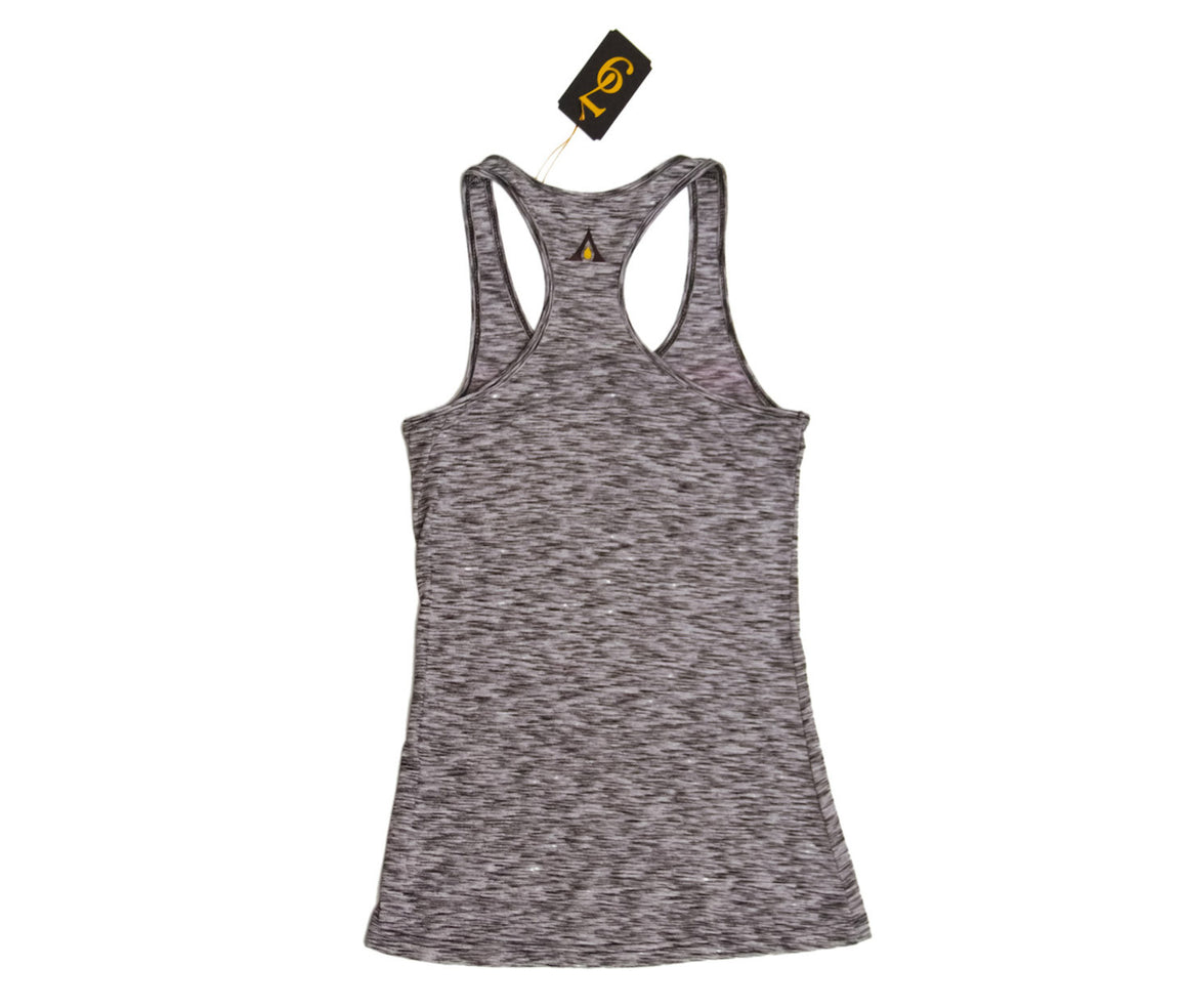 "Auric Gold ""BeautyNGold"" Womens Racerback Tank Top (Heather Burnout) Limited Release 79-0015"