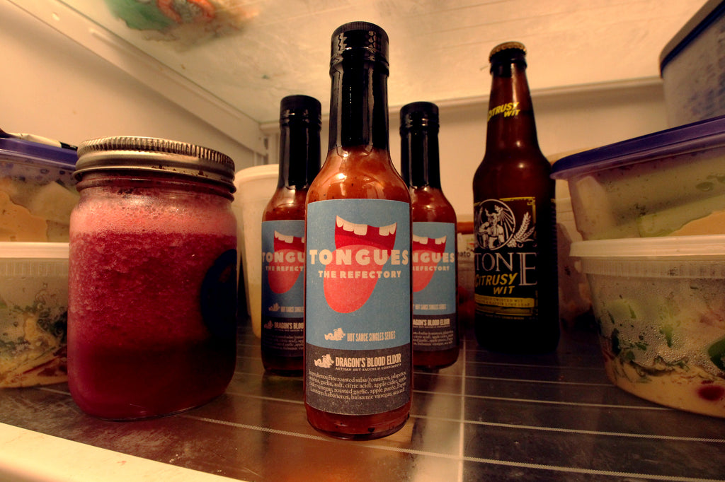 Dragon's Blood Elixir // Hot Sauce Singles Series // The Refectory: Tongues