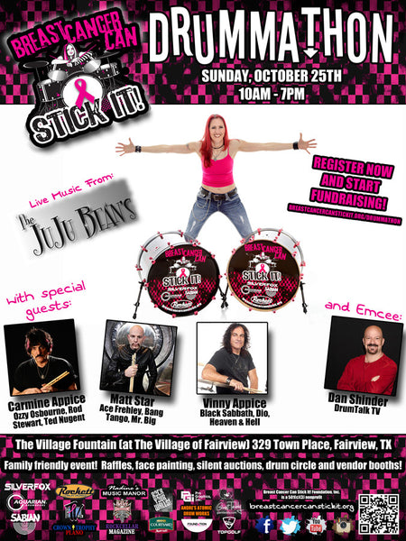 Breast Cancer Can Stick It!  Poster Commemorative 11x17 / 10x16