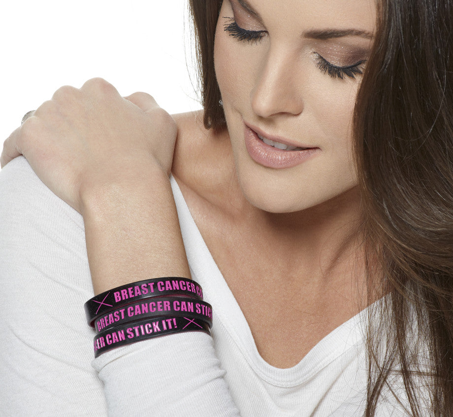 Breast Cancer Can Stick It! Bracelets