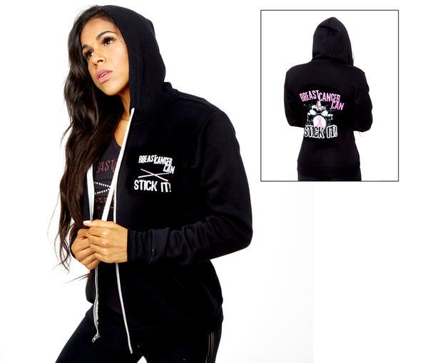 *NEW* Breast Cancer Can Stick It! Hoodie