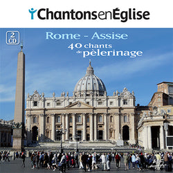 2CD/40 chants de pèlerinage - Rome-Assise