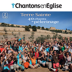 2CD/40 chants de pèlerinage - Terre Sainte