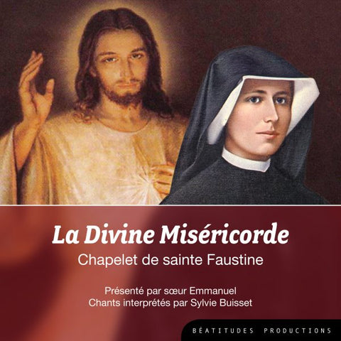 CD La divine miséricorde