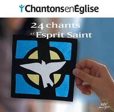 CD 24 chants à l'esprit saint