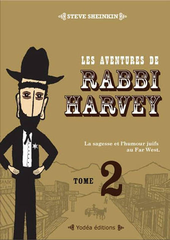 Les aventures de Rabbi Harvey - Tome 2