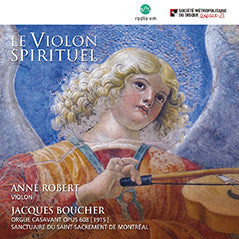 CD/Le violon spirituel - Anne Robert et Jacques Boucher