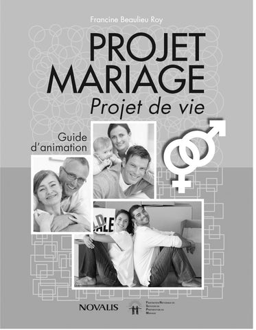 Projet mariage - Guide d'animation