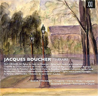 CD/Itinéraire - Jacques Boucher