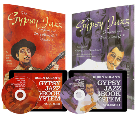 Gypsy Jazz Songbook Systems