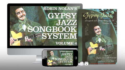 Gypsy Jazz Songbook System 4