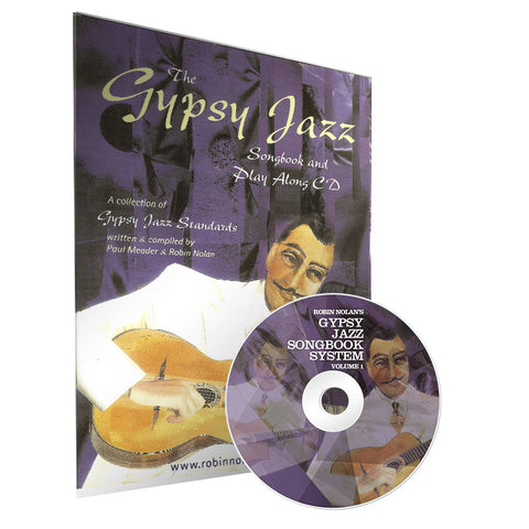 Gyspy Jazz Songbook & Playalong CD volume 1