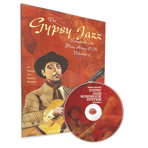 Gyspy Jazz Songbook & Playalong CD volume 2