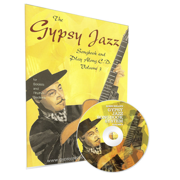 Gyspy Jazz Songbook & Playalong CD volume 3