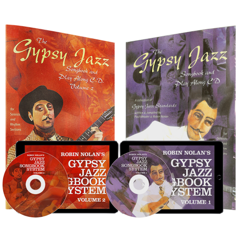 Gypsy Jazz Songbook Systems 1 & 2  Combo Pack