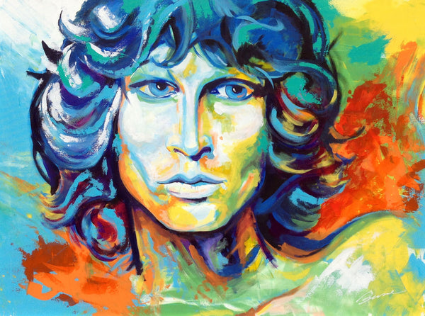 Waiting for the Sun - Jim Morrison - Fine Art Print