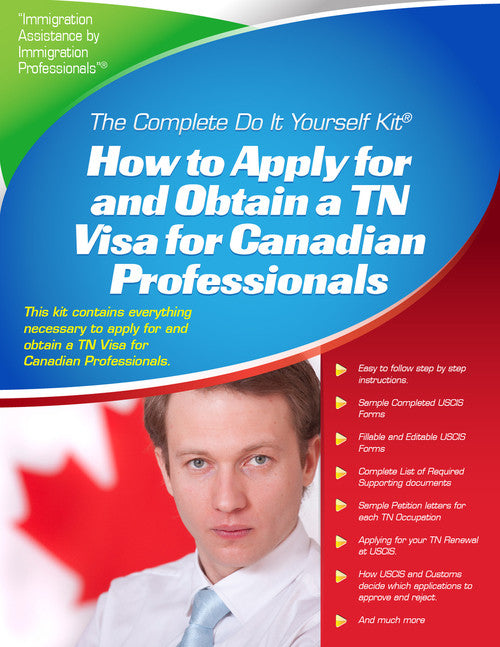 Tn visa for canadian professionals complete do it yourself kit tn visa for canadian professionals complete do it yourself kit solutioingenieria Gallery