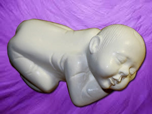 "5"" SLEEPING BABY MOLD 3"