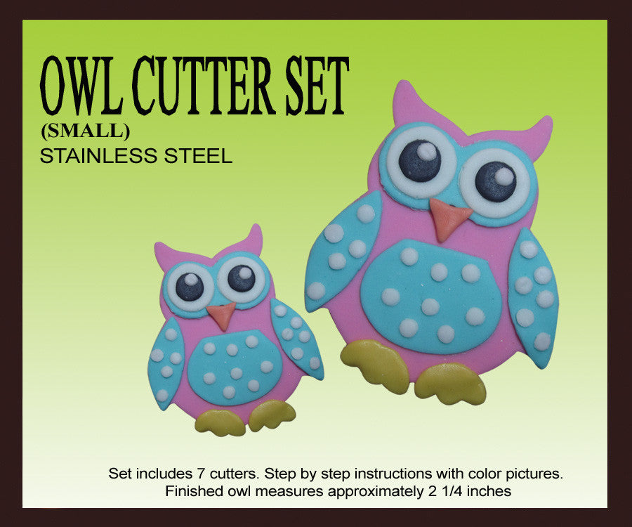 Owl Cutter Sets