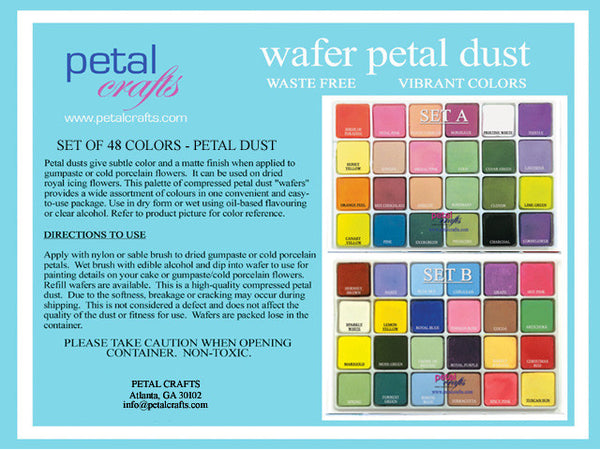 PALETTE PETAL DUST SET OF 48