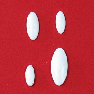 BEVELED OVAL EMBELLISHMENT MOLD