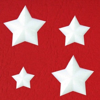 BEVELED STAR EMBELLISHMENT MOLD