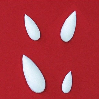 BEVELED TEARDROP EMBELLISHMENT MOLD