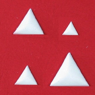 BEVELED TRIANGLE EMBELLISHMENT MOLD