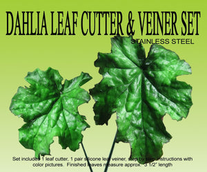 DAHLIA LEAF DOUBLE VEINER