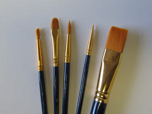 DETAIL BRUSHES SET OF 5