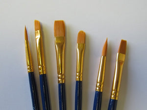DETAIL BRUSHES SET OF 6