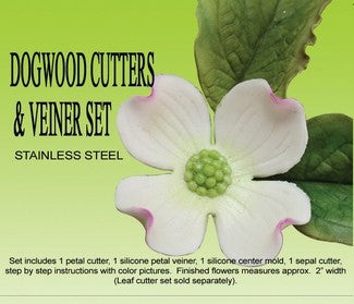 DOGWOOD GUMPASTE CUTTER SET