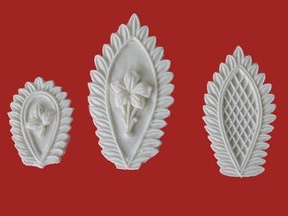 FANCY LEAF TRIO SET SILICONE MOLD