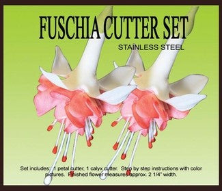 FUSCHIA GUMPASTE CUTTER SET
