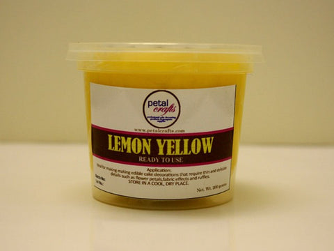 LEMON YELLOW