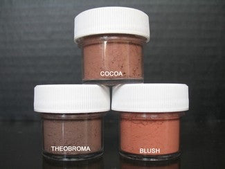 PETAL DUST (SET OF 3) - Cocoa / Theobroma / Blush