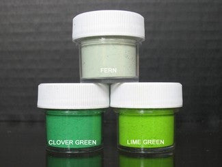 PETAL DUST (SET OF 3) - Fern / Clover Green / Lime Green