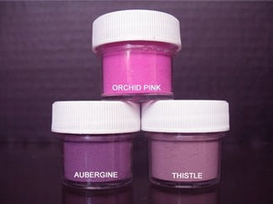 PETAL DUST (SET OF 3) - Orchid Pink / Aubergine / Thistle
