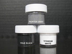 PETAL DUST (SET OF 3) - Pewter Gray / True Black / Titanium White