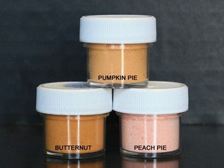 PETAL DUST (SET OF 3) - Pumpkin Pie / Butternut / Peach Pie