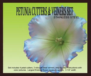 PETUNIA/MORNING GLORY GUMPASTE CUTTER SET
