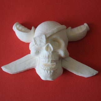 PIRATE SKULL SILICONE MOLD