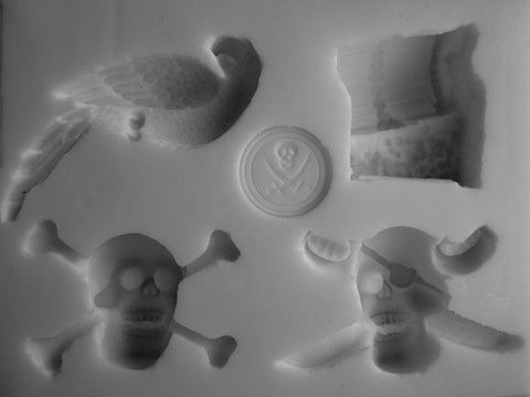 PIRATE COLLECTION SILICONE MOLD