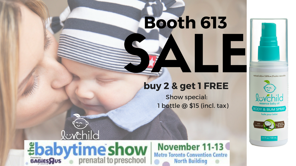 It's Deal Time @ the Baby Time Show in Toronto
