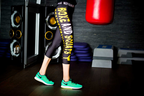 3/4 Boxe and Squats Leggings