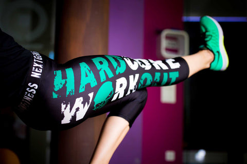3/4 Hardcore workout leggings