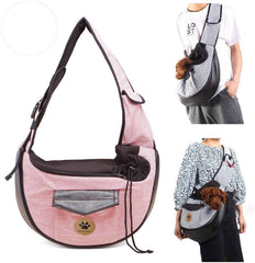 Pet Travel Bag Small Dog Cat Multipocket Sling Carriers