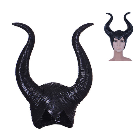 Maleficent Horns Hats for Adult Women Cosplay Halloween Party Costume Headpiece