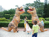 Image of Adult T-REX Inflatable Costume Dinosaur for Women and Men